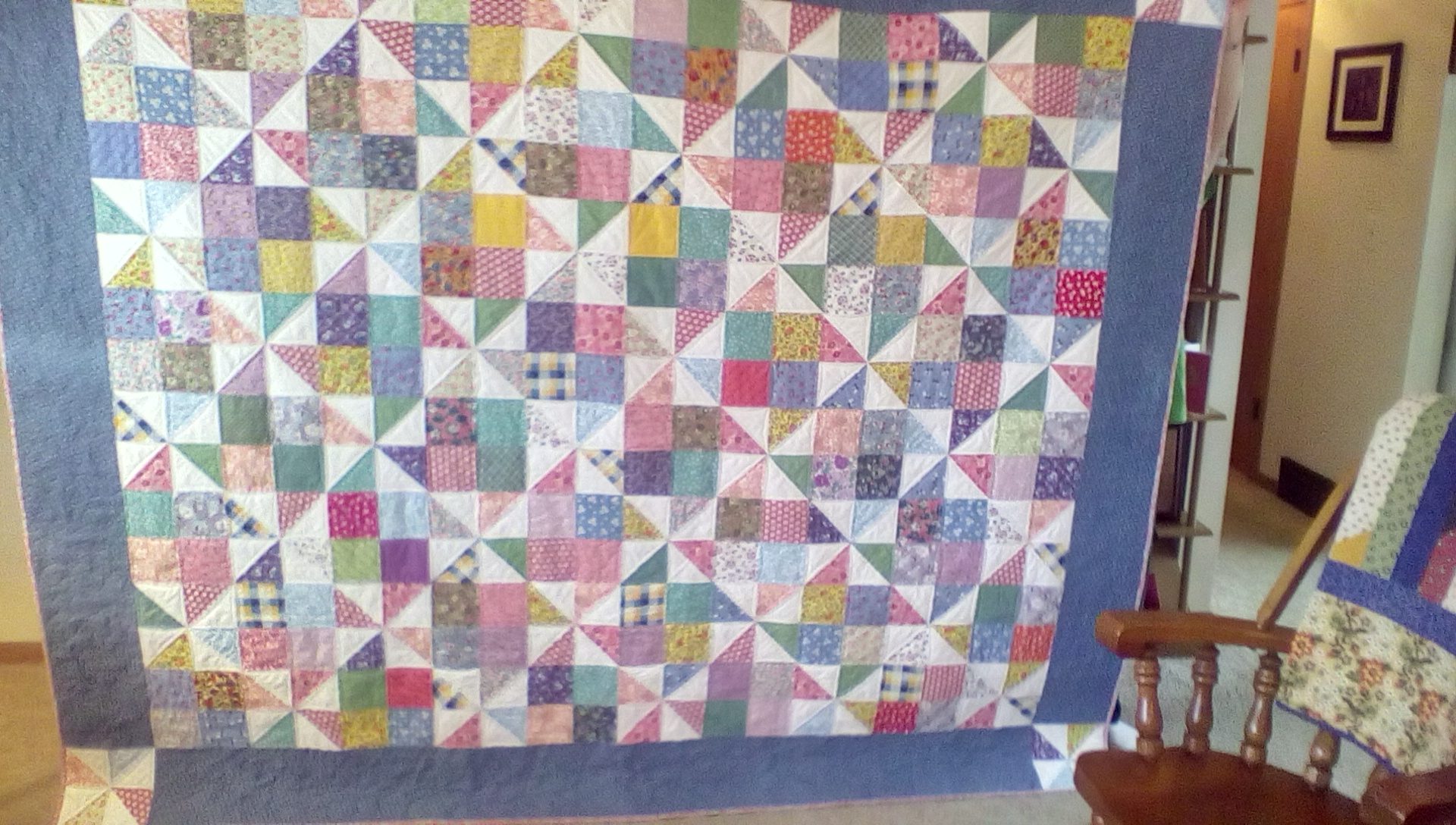 1930s Reproduction Fabric Quilt